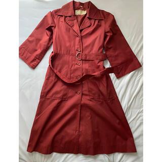 Lochie - red trench coat