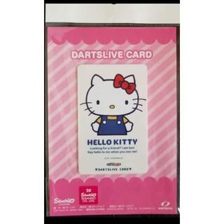 サンリオ(サンリオ)のHELLO KITTY white コラボ限定 ダーツライブカード(ダーツ)