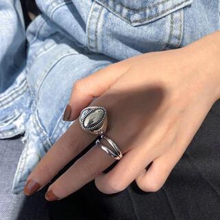 フリークスストア(FREAK'S STORE)のsilver 925 double ring(リング(指輪))