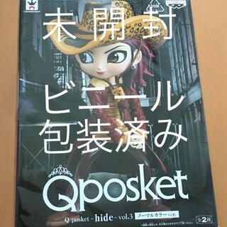 バンプレスト(BANPRESTO)の☆未開封☆Qposket hide vol.2 Aカラー(ミュージシャン)