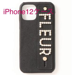 パールロゴアイフォン12ケース メゾンドフルール  iPhone スマホケース(iPhoneケース)