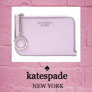 ケイトスペードニューヨーク(kate spade new york)の★SALE☆【kate spade】ジップカード ホルダー キーケース(キーホルダー)