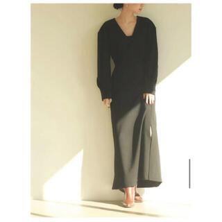 トゥデイフル(TODAYFUL)のnatural flare dress louren (ロングワンピース/マキシワンピース)