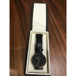 ダニエルウェリントン(Daniel Wellington)のダニエルウェリントン Classic Black 40mm(腕時計(アナログ))