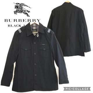 バーバリーブラックレーベル(BURBERRY BLACK LABEL)のバーバリー ジャケットコート(ミリタリージャケット)