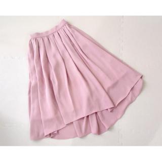 シェリーモナ(Cherie Mona)の【Cherie Mona】 ギャザーフレアロングスカート(ロングスカート)