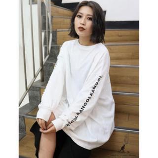 ムルーア(MURUA)のゆき様専用(MURUA × KANGOL ロングスリーブラグランT)(Tシャツ(長袖/七分))