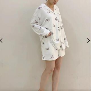 ジェラートピケ(gelato pique)の【Halloween限定】キャットシャツ&ショートパンツ(ルームウェア)