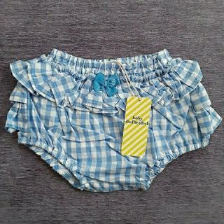 アンパサンド(ampersand)の《新品》baby  ampersandパンツ(size70~90)ブルー(パンツ)