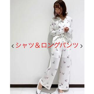 ジェラートピケ(gelato pique)の【Halloween限定】キャットシャツ&ロングパンツ(ルームウェア)