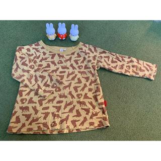 サマンサモスモス(SM2)のSM2 キツネ柄 ロンt 95(Tシャツ/カットソー)
