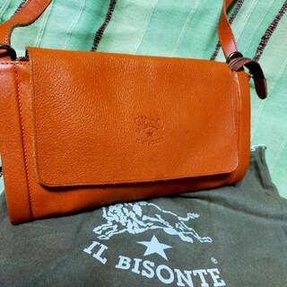 イルビゾンテ(IL BISONTE)の★IL BISONTE★美品イルビゾンテショルダーバッグポシェット(ショルダーバッグ)