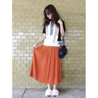 シェリーモナ(Cherie Mona)の【Cherie Mona】 マットサテンプリーツスカート(ロングスカート)