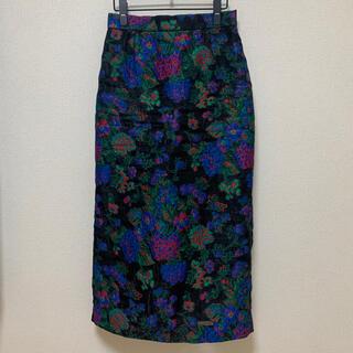 マルタンマルジェラ(Maison Martin Margiela)の19FW INSCRIRE Flower Jacquard Skirt(ロングスカート)