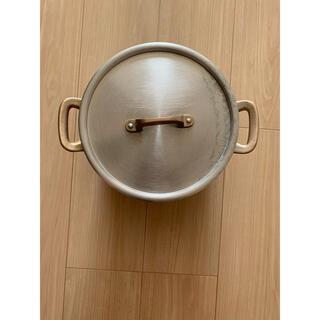 ムジルシリョウヒン(MUJI (無印良品))のFound MUJI 青山 ステンレス鍋(鍋/フライパン)