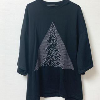 ラッドミュージシャン(LAD MUSICIAN)のLAD MUSICAN 19SS joy divisionスーパービッグTシャツ(Tシャツ/カットソー(七分/長袖))