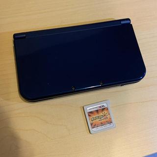 """ニンテンドー3DS(ニンテンドー3DS)のNEW 3DSLL 本体➕ ソフト """"ポケットモンスターウルトラサン""""(携帯用ゲーム機本体)"""
