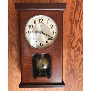 セイコー(SEIKO)のセール セイコー柱時計アンティーク(掛時計/柱時計)