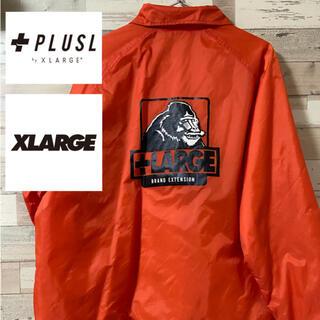 エクストララージ(XLARGE)の【PLUSL】マントヒヒプリント コーチジャケット(ナイロンジャケット)