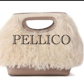 ペリーコ(PELLICO)のPELLICO  クラッチバッグ✨ショルダーバッグ美品 ファーバッグ(ショルダーバッグ)