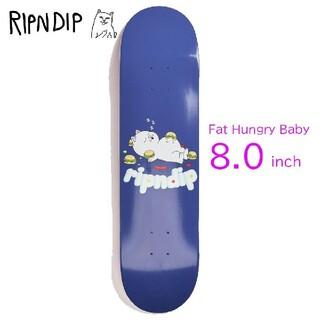 (新品未使用シュリンク付き)RIPNDip スケートボードデッキ8.0(スケートボード)