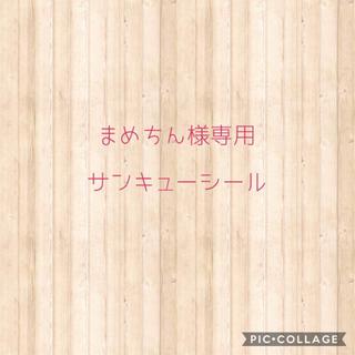 まめちん様専用 サンキューシール(宛名シール)