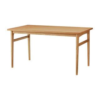 ウニコ(unico)の【美品】unico ウニコ SIGNE(シグネ) ダイニングテーブル(ダイニングテーブル)
