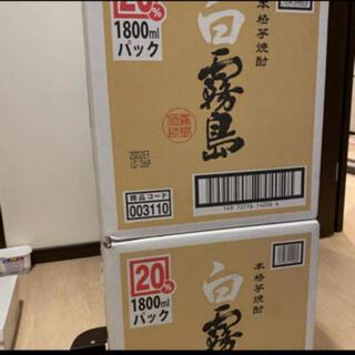 霧島酒造 白霧島 1800mlパック 12本セット 2ケース(焼酎)