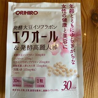 オリヒロ(ORIHIRO)のエクオール発酵高麗人参(ビタミン)