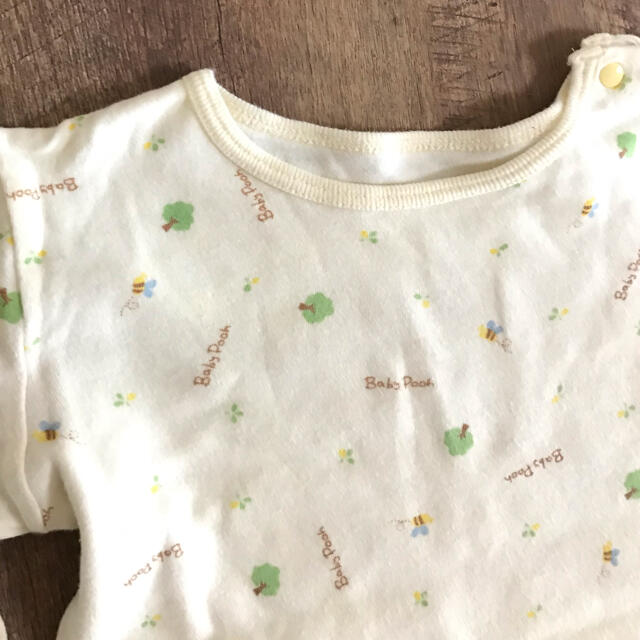 Disney(ディズニー)のBabyPoohの長袖トップス♡ キッズ/ベビー/マタニティのベビー服(~85cm)(Tシャツ)の商品写真