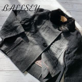 ボールジィ(Ballsey)の《超美品》【ボールジーBALLSEY】トゥモローランドコートステンカラーショート(毛皮/ファーコート)