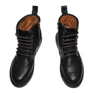 カンペール(CAMPER)のCAMPERカンペール本革レザーブーツ/ブラック/36/23.0cm正規品(ブーツ)