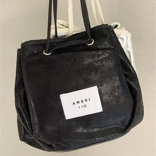 アメリヴィンテージ(Ameri VINTAGE)のameri 非売品 ノベルティポーチ メイクポーチ化粧品ポーチ ブラック(ハンドバッグ)