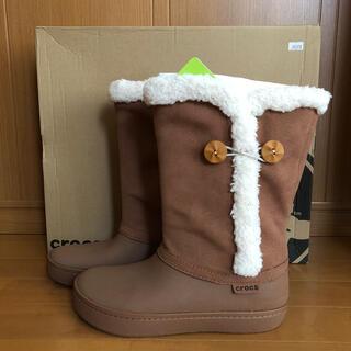 クロックス(crocs)のクロックス☆crocs ブーツ W8   24(ブーツ)