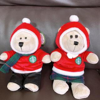 スターバックスコーヒー(Starbucks Coffee)のクリスマス バリスタベア(キャラクターグッズ)