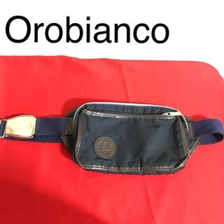 オロビアンコ(Orobianco)のオロビアンコ Orobianco ネイビー ウエストポーチ ボディバッグ(ボディーバッグ)