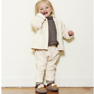 キャラメルベビー&チャイルド(Caramel baby&child )のyellowpelota*corduroy trousers 2y(パンツ/スパッツ)