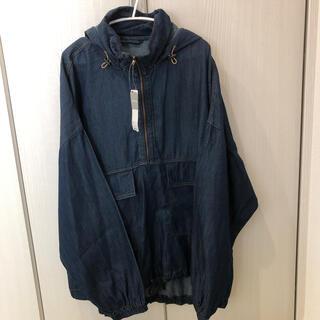 ジーユー(GU)のGU デニムパーカージャケット XL(Gジャン/デニムジャケット)