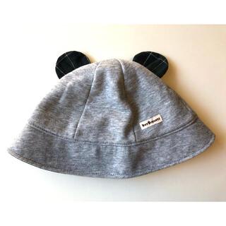 ホットビスケッツ(HOT BISCUITS)のミキハウス ホットビスケット ベビー 帽子S(44から48㎝)(帽子)
