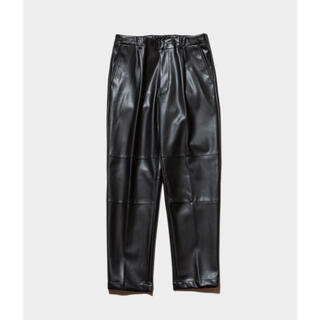 サンシー(SUNSEA)の19aw stein FAKE LEATHER TROUSERS(その他)
