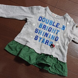 ダブルビー(DOUBLE.B)のダブルビー トップス 80(トレーナー)
