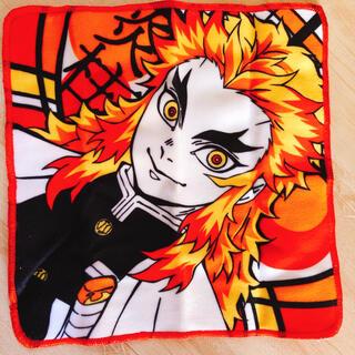 タカラトミーアーツ(T-ARTS)の煉獄杏寿郎 ミニタオル ハンカチ(キャラクターグッズ)