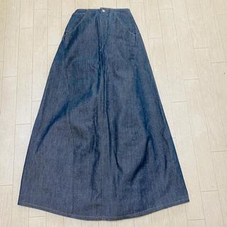 リーバイス(Levi's)のリーバイス ロングデニムスカート 変形マーメイド(ロングスカート)