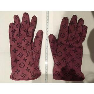 ルイヴィトン(LOUIS VUITTON)のしょっぴ様専用 ルイ ヴィトン 手袋 くすみピンク(手袋)