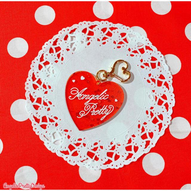 Angelic Pretty(アンジェリックプリティー)のAngelic pretty Deco Heartアクリルキーホルダー レディースのファッション小物(キーホルダー)の商品写真