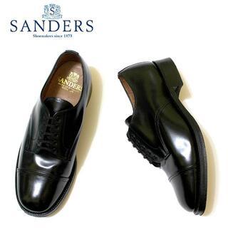 サンダース(SANDERS)の 正規品SANDERSグッドイヤーウェルト/カーフ革靴/25.5-26.0cm(ドレス/ビジネス)