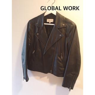グローバルワーク(GLOBAL WORK)のグローバルワーク GLOBAL WORK ライダースジャケット L(ライダースジャケット)