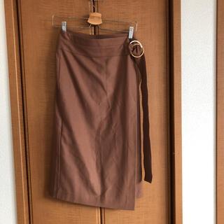 カプリシューレマージュ(CAPRICIEUX LE'MAGE)の巻きスカート ロングスカート(ロングスカート)