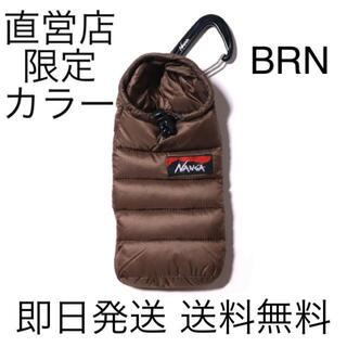 ナンガ(NANGA)の即日発送 送料込み  NANGAミニスリーピングバッグフォンケース BROWN(iPhoneケース)