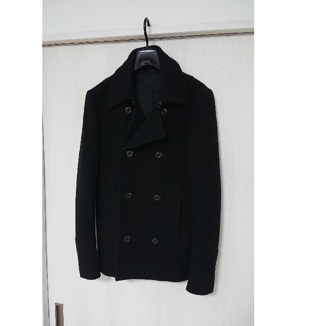 ATTACHIMENT(アタッチメント)のATTACHMENT アタッチメント ヘビーメルトンPコート 1 メンズのジャケット/アウター(ピーコート)の商品写真